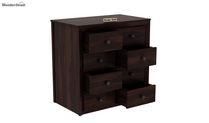 Carvel Chest of Drawers (Walnut Finish)-5