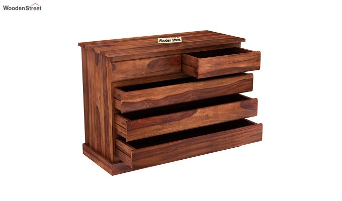 Colley Chest of Drawers (Honey Finish)-4