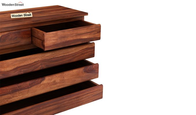 Colley Chest of Drawers (Honey Finish)-5