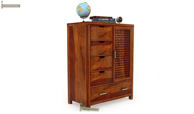 Crisco Chest of Drawers (Honey Finish)-2