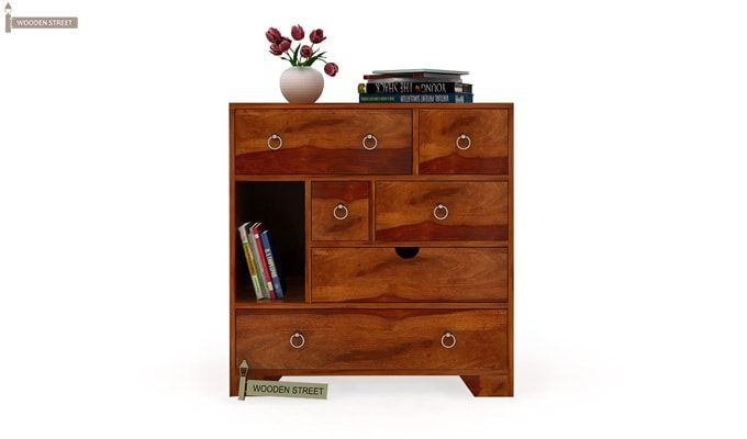 Emerson Chest of Drawers (Honey Finish)-2