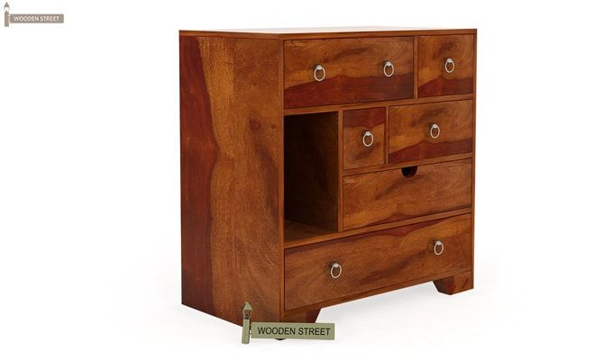 Emerson Chest of Drawers (Honey Finish)-4