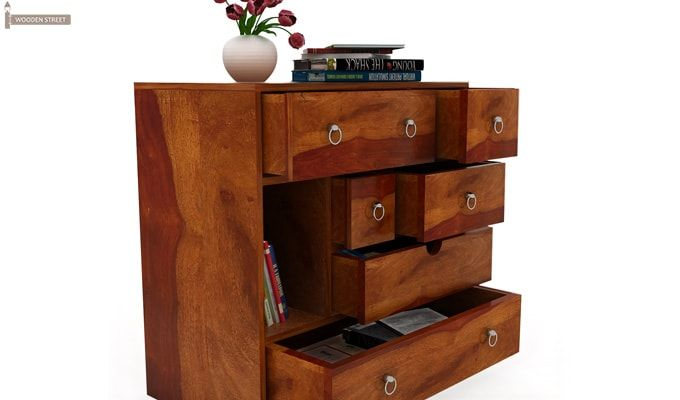Emerson Chest of Drawers (Honey Finish)-6