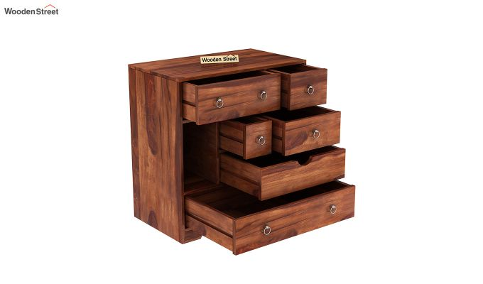 Emerson Chest Of Drawer (Honey Finish)-4