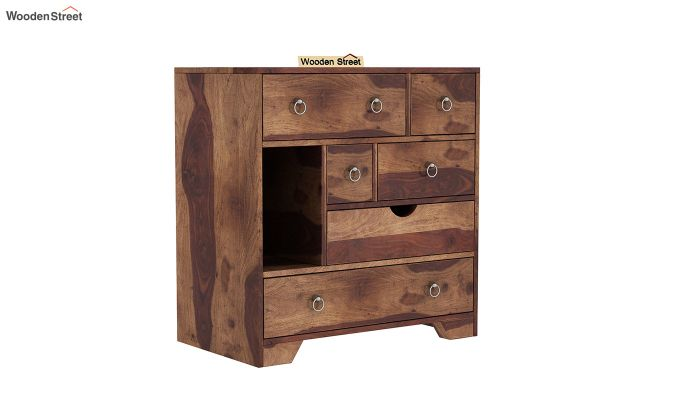 Emerson Chest Of Drawer (Teak Finish)-2