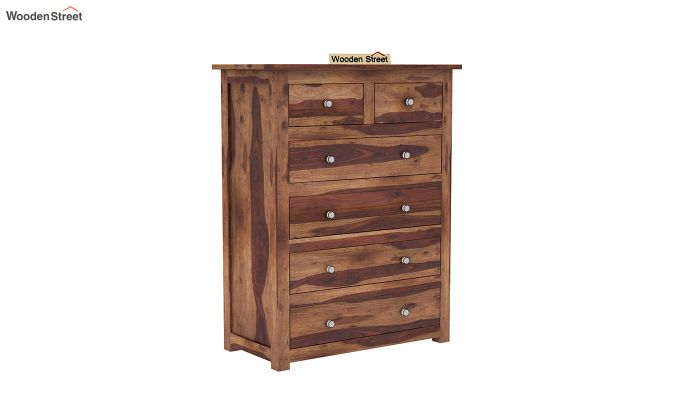 Garry Chest Of Drawers (Teak Finish)-2
