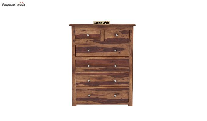 Garry Chest Of Drawers (Teak Finish)-3