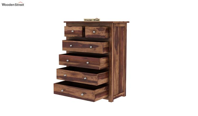Garry Chest Of Drawers (Teak Finish)-4