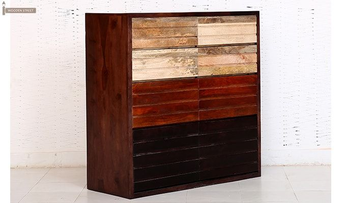 Grazor Chest of Drawers (Mahogany Finish)-2