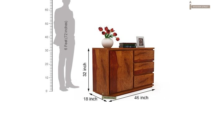 Hazeline Chest of Drawers-4