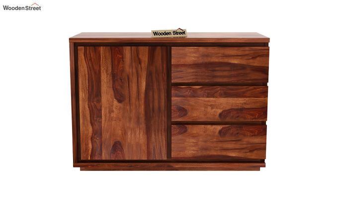 Hazeline Chest Of Drawer (Honey Finish)-3