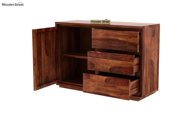Hazeline Chest Of Drawer (Honey Finish)-4