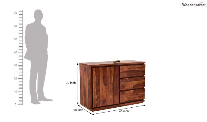 Hazeline Chest Of Drawer (Honey Finish)-6