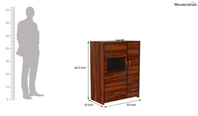 Hodor Cupboard (Honey Finish)-7