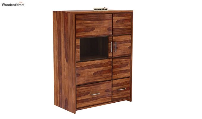 Hodor Cupboard (Teak Finish)-3