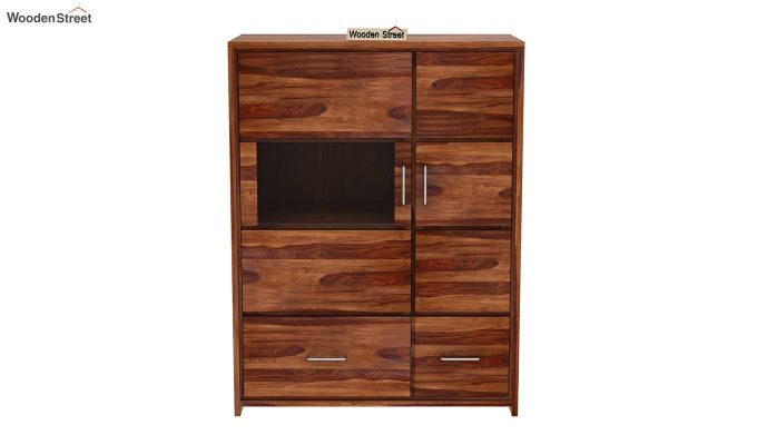 Hodor Cupboard (Teak Finish)-4
