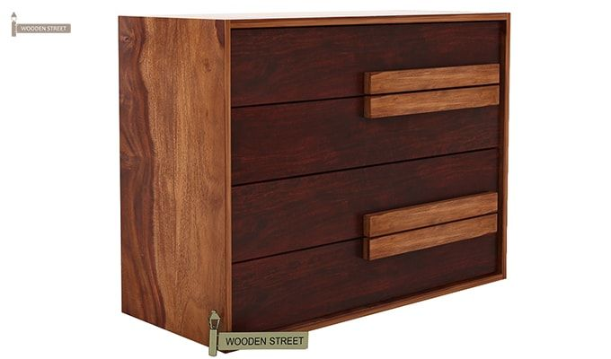 Leonara Chest of Drawers (Mahogany Finish)-2