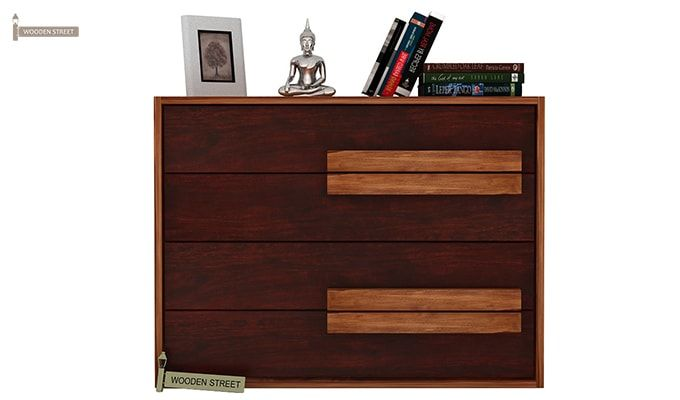 Leonara Chest of Drawers (Mahogany Finish)-3