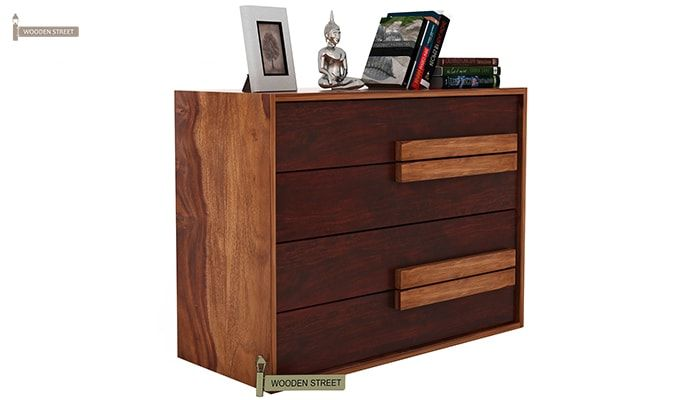 Leonara Chest of Drawers (Mahogany Finish)-4