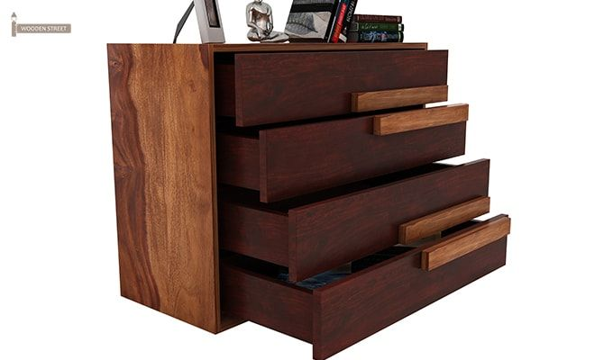 Leonara Chest of Drawers (Mahogany Finish)-5