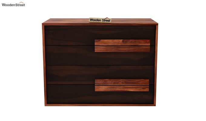 Leonara Chest of Drawers (Honey-Walnut)-3