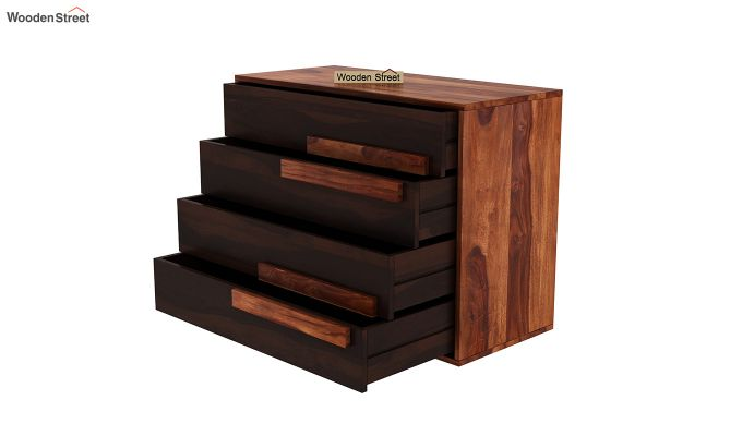 Leonara Chest of Drawers (Honey-Walnut)-4