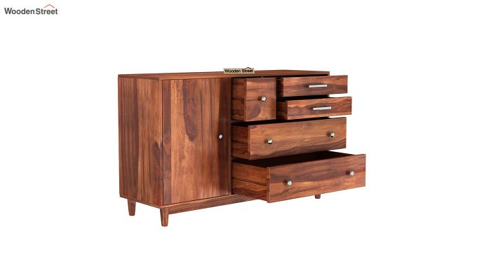 Lunesta Chest Of Drawer (Honey Finish)-4