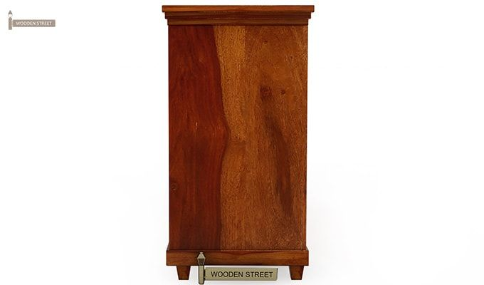 Lynet Chest of Drawers (Honey Finish)-2