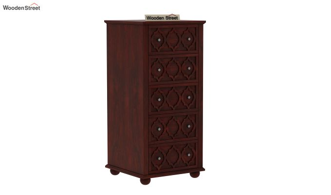 Montana Chest Of Five Drawers (Mahogany Finish)-2
