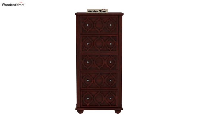 Montana Chest Of Five Drawers (Mahogany Finish)-3