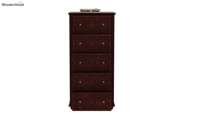 Montana Chest Of Five Drawers (Mahogany Finish)-4