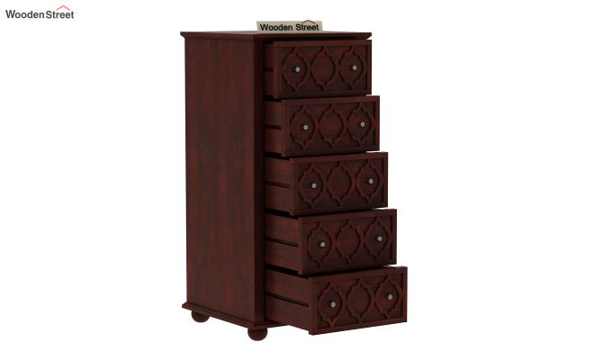 Montana Chest Of Five Drawers (Mahogany Finish)-5
