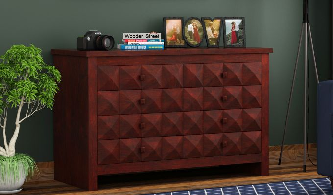 Morse Chest Of Eight Drawers (Mahogany Finish)-1