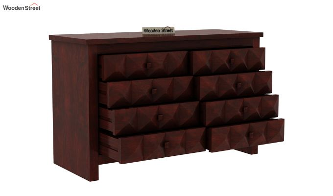 Morse Chest Of Eight Drawers (Mahogany Finish)-4