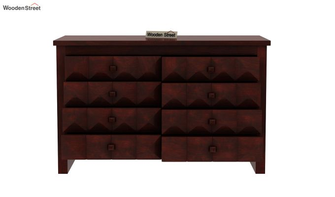 Morse Chest Of Eight Drawers (Mahogany Finish)-5