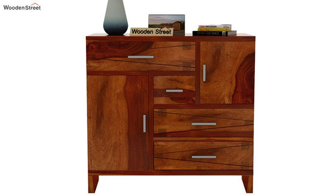 Ned Storage Unit  (Honey Finish)-3