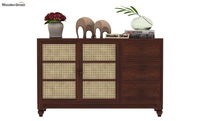Palm Chest of Drawers (Walnut Finish)-3