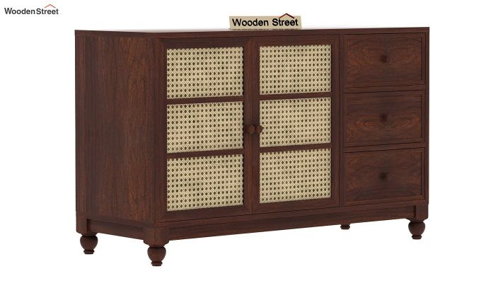 Palm Chest of Drawers (Walnut Finish)-5