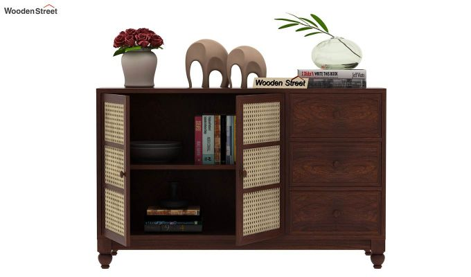 Palm Chest of Drawers (Walnut Finish)-6