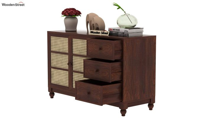 Palm Chest of Drawers (Walnut Finish)-7