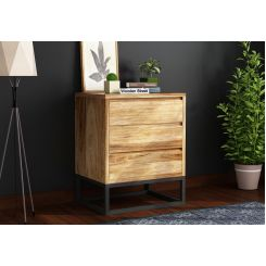 Ray Loft Small Chest Of Drawer (Natural Finish)