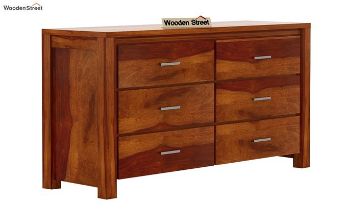 Serena Chest of Drawers (Honey Finish)-4