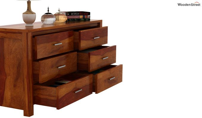 Serena Chest of Drawers (Honey Finish)-5