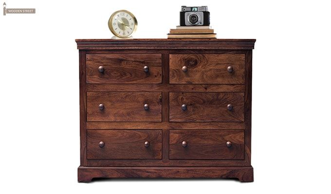 Sheen 6 Drawers Chest (Walnut Finish)-1