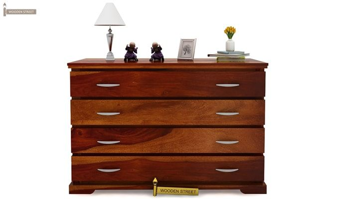 Warner Chest of Drawers (Honey Finish)-3