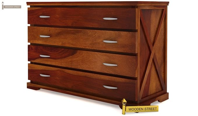 Warner Chest of Drawers (Honey Finish)-4
