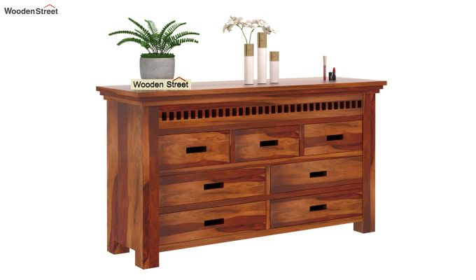 Adolph Chest of Drawers (Honey Finish)-2