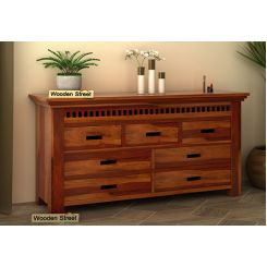 Adolph Chest Of Drawer (Honey Finish)