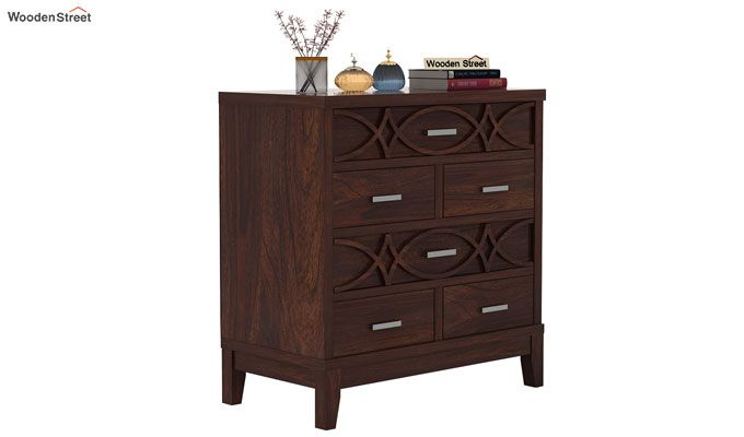 Allan Chest Of Drawers (Walnut Finish)-1