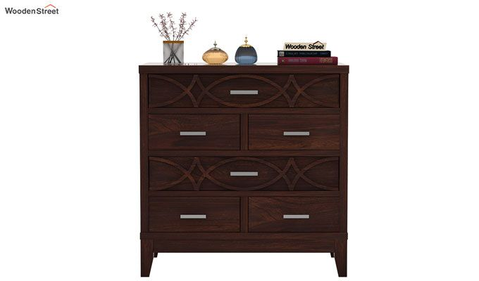 Allan Chest Of Drawers (Walnut Finish)-2